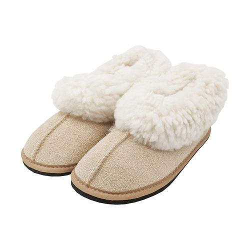 Roon Clog Wool Slippers - Beige
