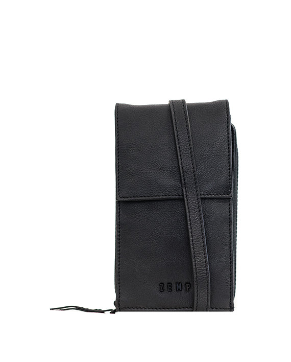 Zemp Dreamer Cross Body Bag - Black - Macaroon Collection