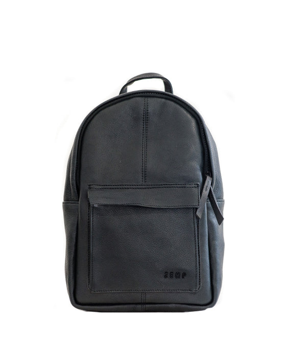 Zemp Go-To Backpack - Black - Macaroon Collection