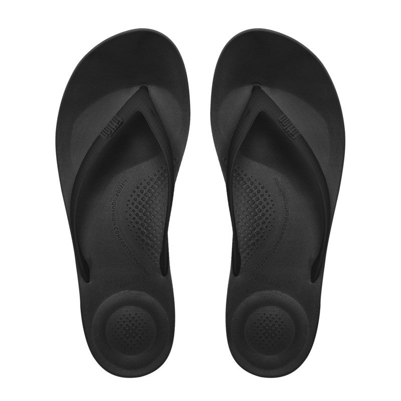 IQUSHION Flip Flop - Black - Macaroon Collection
