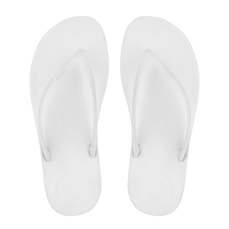 IQUSHION Flip Flop - White - Macaroon Collection