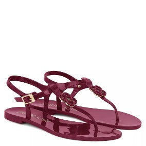 SALE ** Petite Jolie Noah Jelly Sandals - Plum, Petite Jolie, [product-type] - Macaroon Collection