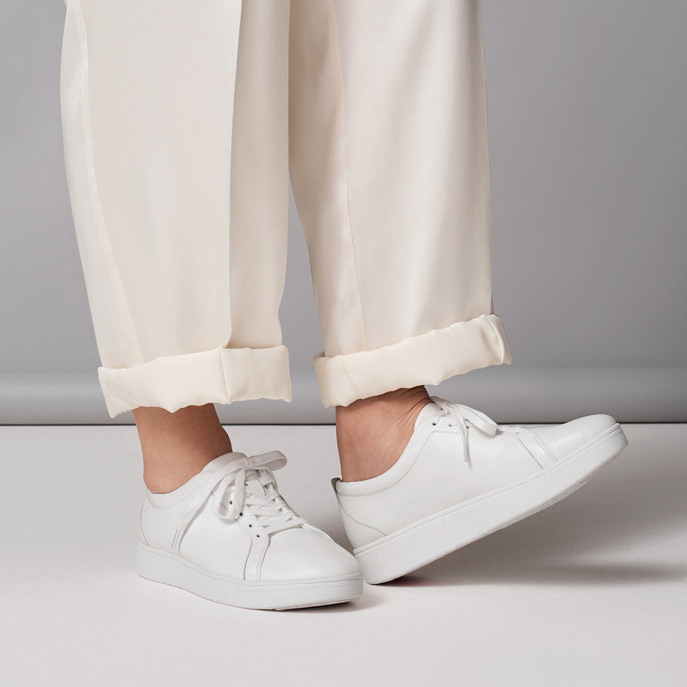 Fitflop Rally Sneakers - White - Macaroon Collection