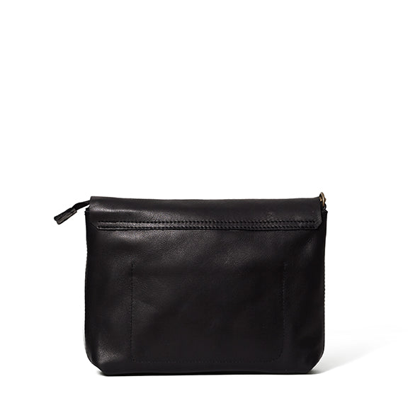 Antelo Jeanie XL Leather Handbag / Sling - Black, Antelo Leather, [product-type] - Macaroon Collection