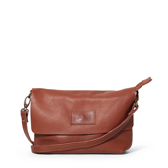 Antelo Jeanie Leather Handbag / Sling - Tan, Antelo Leather, [product-type] - Macaroon Collection