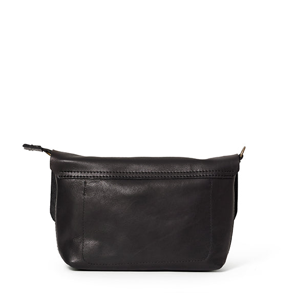 Antelo Jeanie Leather Handbag / Sling - Black - Macaroon Collection