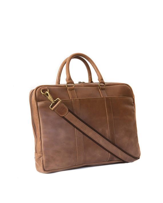 "Zemp Supernova 15"" Laptop Bag - Waxy Tan - Macaroon Collection"