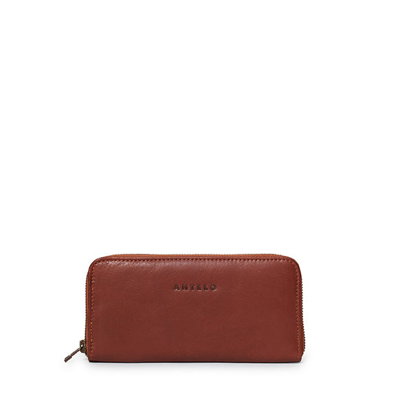 Antelo Hayley Leather Wallet - Tan - Macaroon Collection