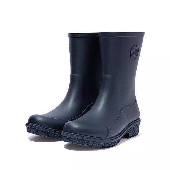 FitFlop WonderWelly Boots - Short Navy ** Pre-order - Macaroon Collection
