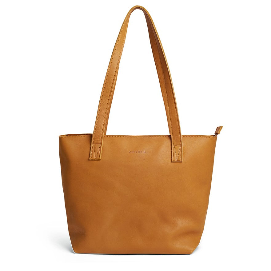 Antelo Emmy Leather Handbag - Mustard