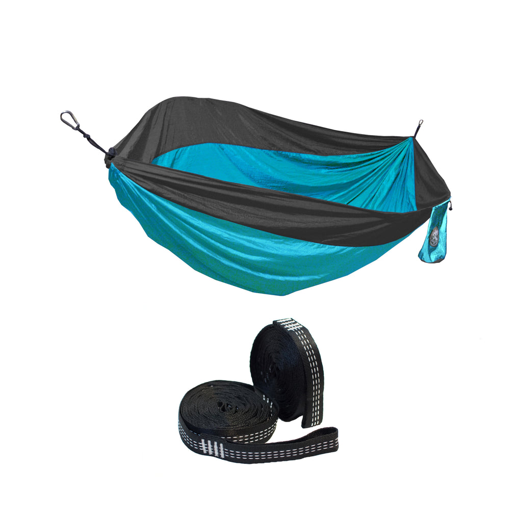Two Person Hammock + Hammock Straps Discount Bundle