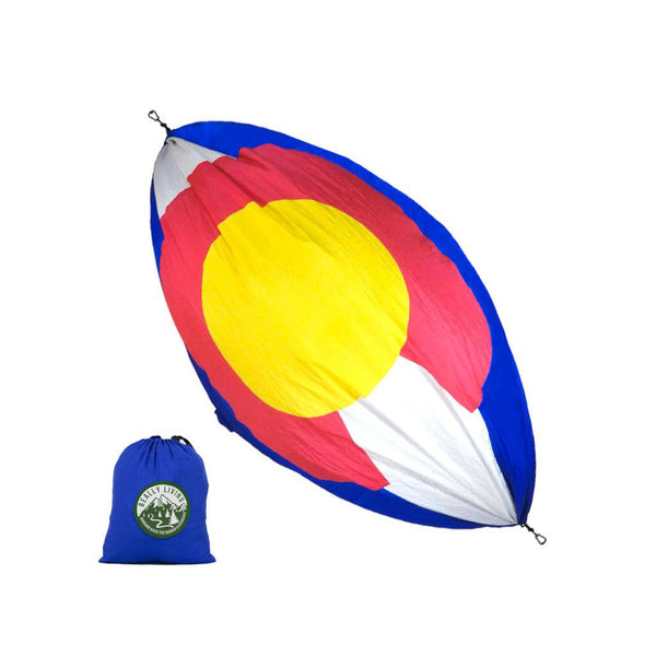 Colorado Flag Double Hammock