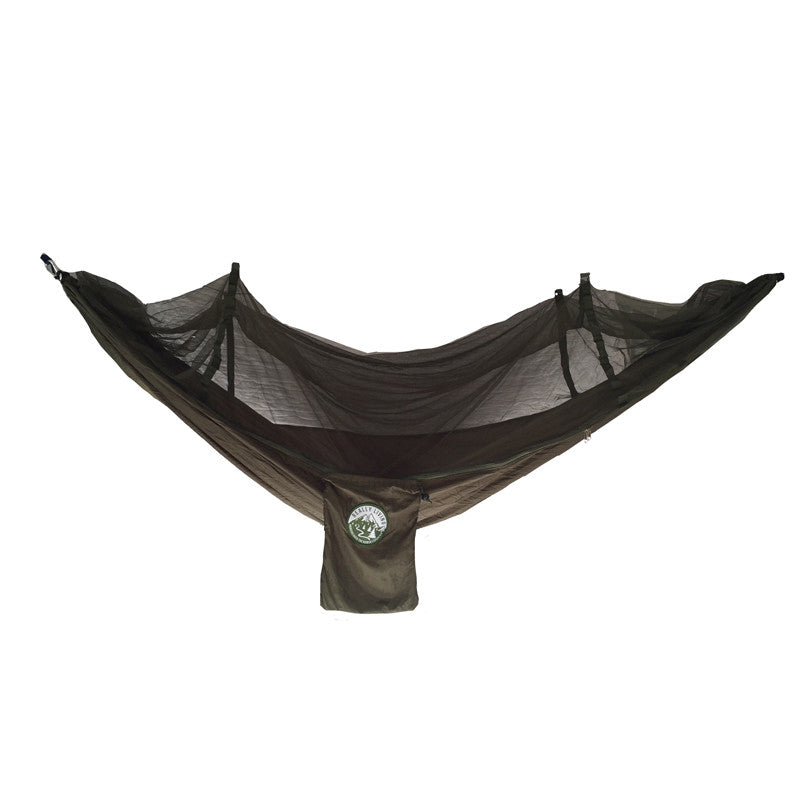 Mosquito Netted Travel Hammock -Forest Green