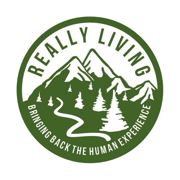 Really Living Car Sticker