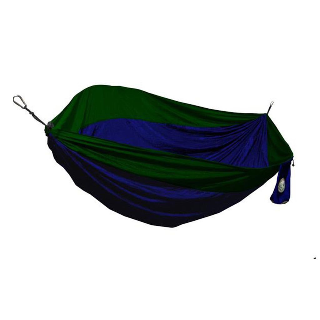 Two Person Royal Blue & Forest Green Travel Hammock