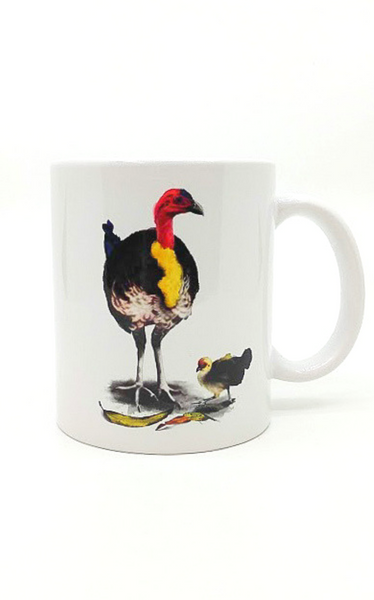 UQ Watercolour Turkey Mug
