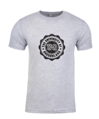 Team UQ Woman's Tee Wax Seal Grey