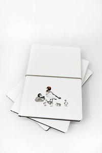 UQ Notebook Wood Ducks Print