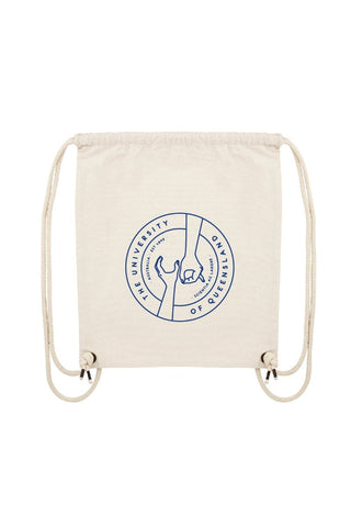 UQ Hands Print Gym Bag