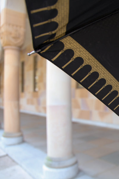 UQ Umbrella Great Court Columns - Black