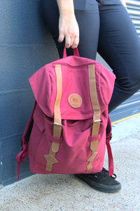 UQ Backpack - Maroon