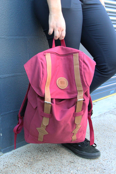 UQ Backpack Maroon
