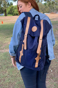 UQ Circle Backpack Navy