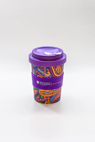 uq rap bamboo coffee cup