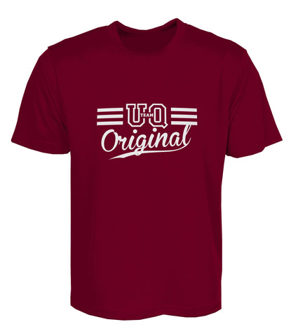 Team UQ Womans Tee Original Maroon