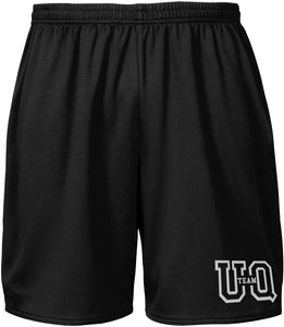 Team UQ Mens Short Workout Black