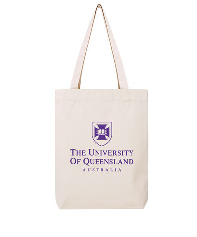 UQ Shield Tote Bag - Purple
