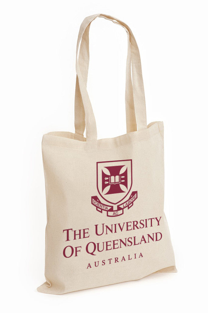 UQ Shield Tote Bag - Maroon