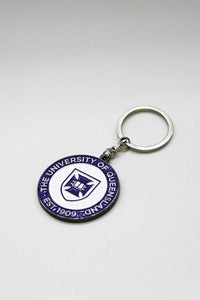 UQ Shield Keyring - Purple