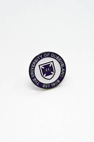 UQ Shield Pin Purple