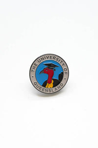 UQ Grad Turkey Pin