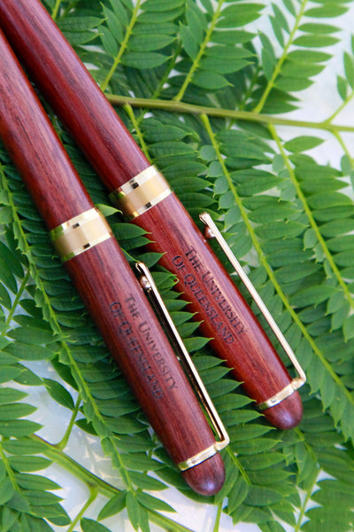 UQ Jarrah Tree Executive Pen Set