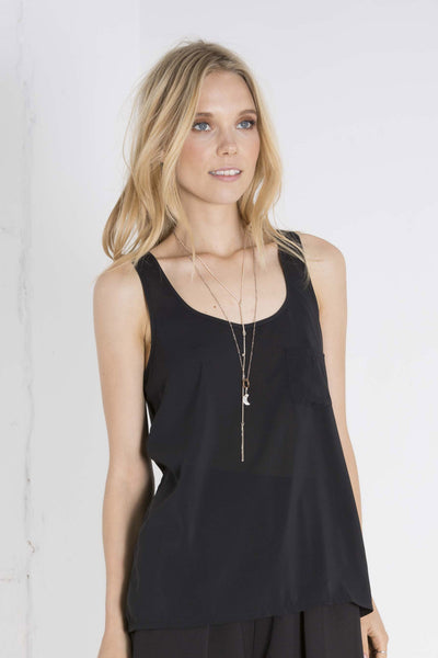 Pocket Basic Tank - Black