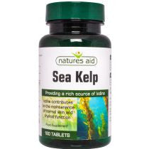 Natures Aid Sea Kelp 180's - Health Emporium