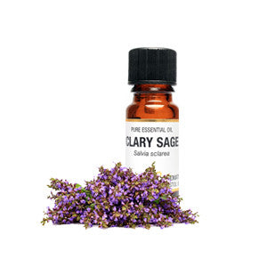 Clary Sage Essential Oil 10ml - Health Emporium