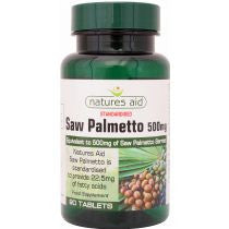 Natures Aid Saw Palmetto 90's