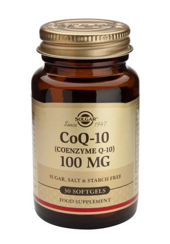 Coenzyme Q-10 100 mg Softgels - Health Emporium
