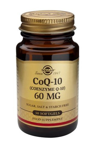 Coenzyme Q-10 60 mg Softgels - Health Emporium