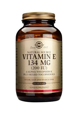 Vitamin E 134 mg (200 IU) Softgels - Health Emporium