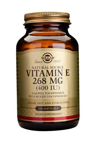 Vitamin E 268 mg (400 IU) Softgels - Health Emporium