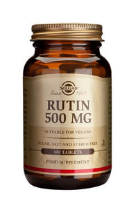 Rutin 500 mg Tablets - Health Emporium