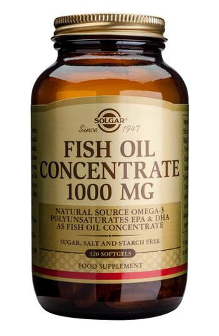 Fish Oil Concentrate 1000 mg Softgels - Health Emporium