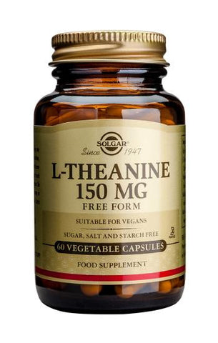 L-Theanine 150 mg Vegetable Capsules - Health Emporium