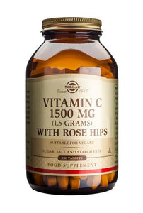 Vitamin C 1500 mg with Rose Hips 180 Tablets - Health Emporium