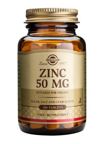 Zinc 50 mg 100 Tablets OUT STOCK - Health Emporium
