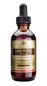 Liquid B12 2000 µg with B-Complex - Health Emporium